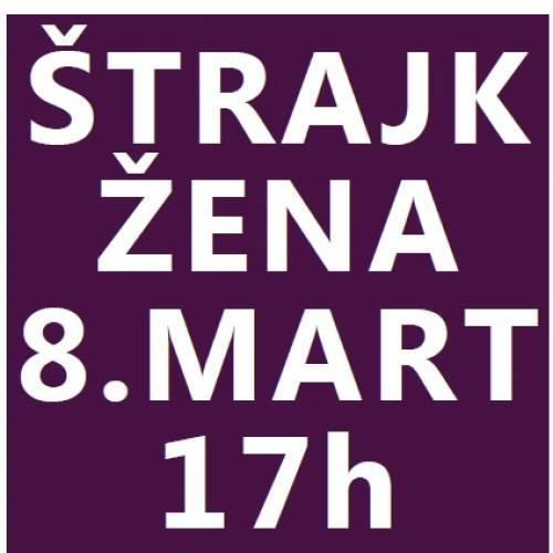 Pozivamo vas na tribinu i ženski štrajk 8. marta