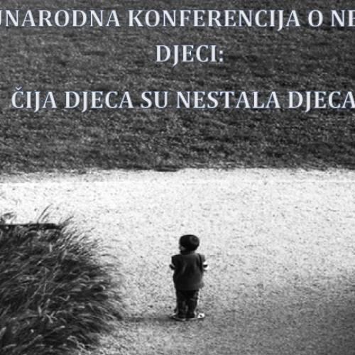 """Konferencija """"Čija deca su nestala deca?"""" u Zagrebu"""