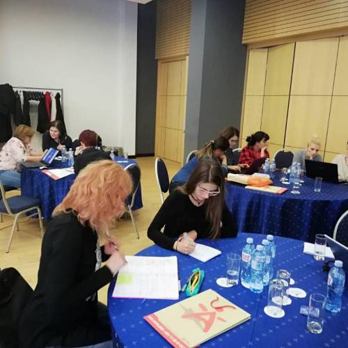 Advanced training for writing project proposals and fundraising
