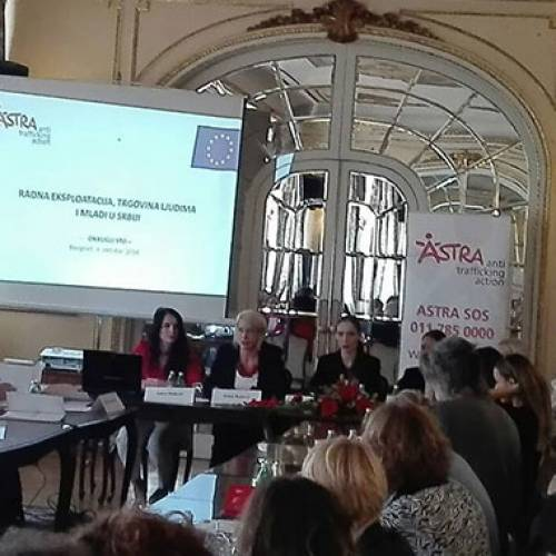 "Round table held ""Working Exploitation, Trafficking in Human Beings and Youth in Serbia"""