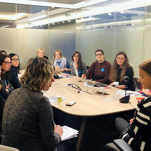Female Human Rights Defenders in Brussels