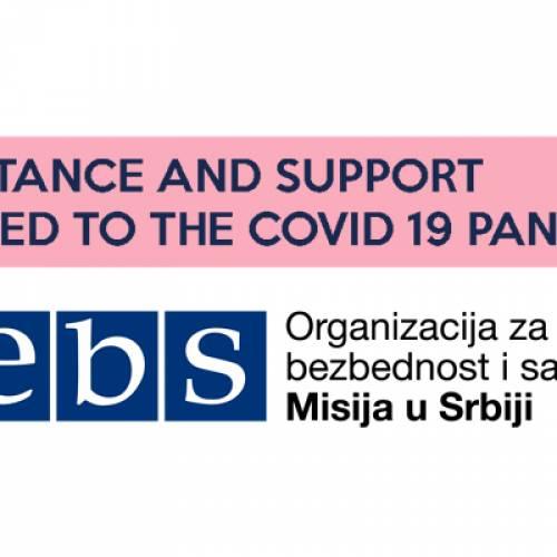 Misija OEBS-a u Srbiji: Pomoć i podrška žrtvama trgovine ljudima tokom pandemije