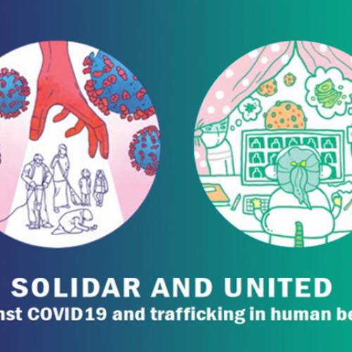"""SOLIDAR AND UNITED against COVID19 and trafficking in human beings"" campaign launching"
