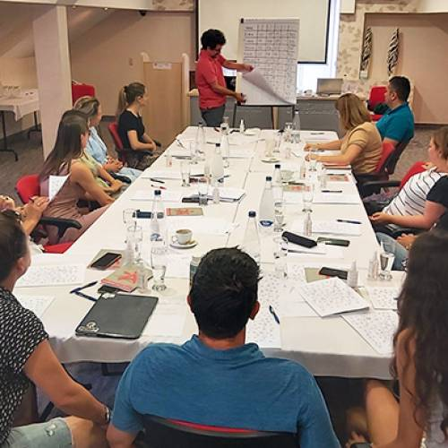 A workshop for improving the organizational structure of local CSOs was held
